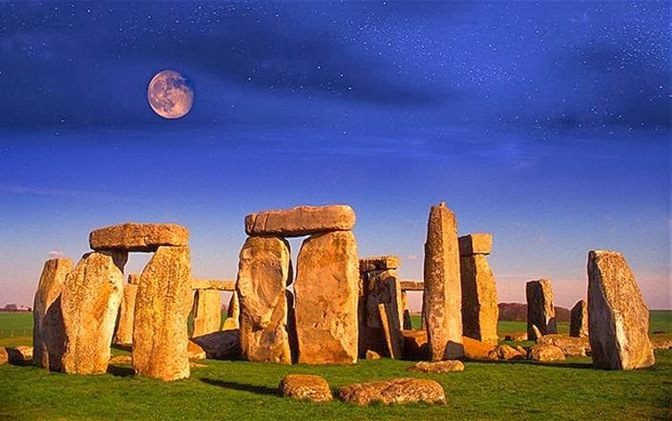a stonehenge