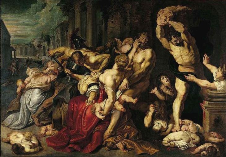 herod the edomite jews massacre of the aryan innocents