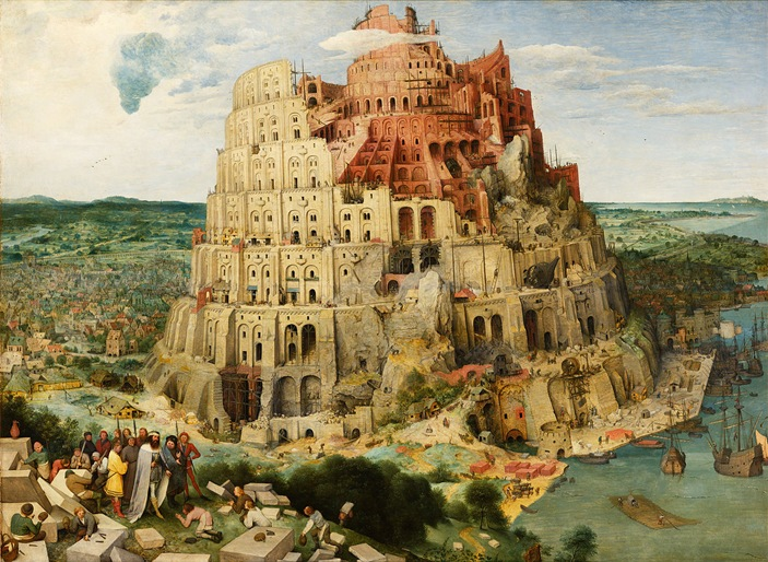 It all depends on your ancestors righteousness whether you are part of the tower of Babylon, or the holy mountain of God